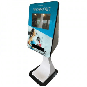 All Right Now Products SmartCurve Wristband Kiosk smartcurve card dispensing touch screen kiosk