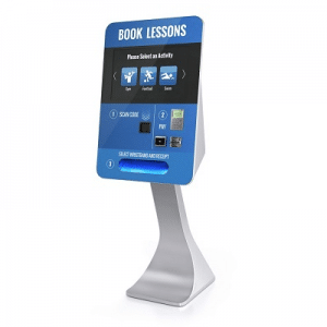 Touch screen kiosks Access Control solutions